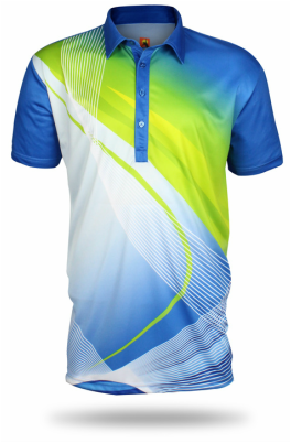 This shirt is the fifth shirt of the collection of Australian Open