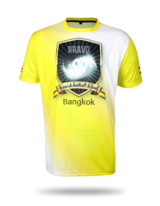 this image is the player shirt of Bravo Foot